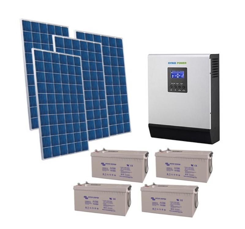 Kit-Casa-Solare-2.8kW-48V-Pro-Impianto-Accumulo-Inverter-Batteria-AGM-220Ah